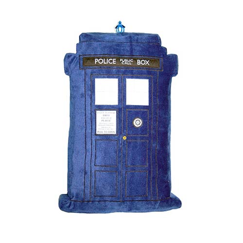 Doctor Who TARDIS Cushion with Lights and Sounds