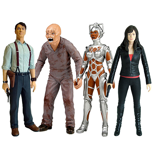 Torchwood Wave 1 Action Figure Set