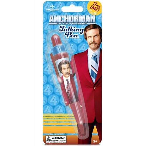 Anchorman The Legend of Ron Burgundy Talking Pen