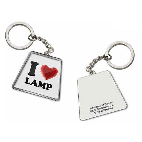 Anchorman I Love (Heart) Lamp Key Chain