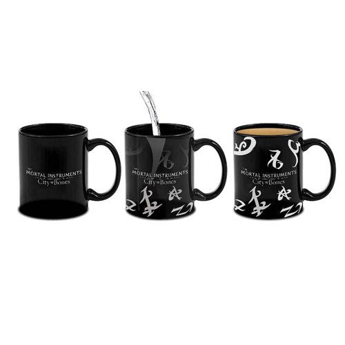 The Mortal Instruments City of Bones Heat Reveal Rune Mug
