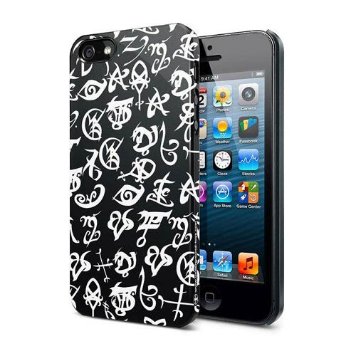 Mortal Instruments City of Bones Black Rune iPhone 5 Case