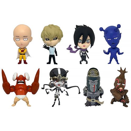 One-Punch Man 16d Figure Collection Vol. 1