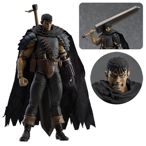 Berserk Black Swordsman Repaint Version Figma Figure