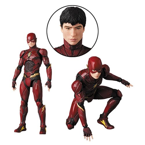 Justice League Movie Flash MAFEX Action Figure