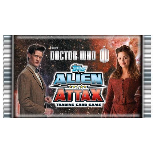 Doctor Who Alien Attax Trading Card Game Display Box