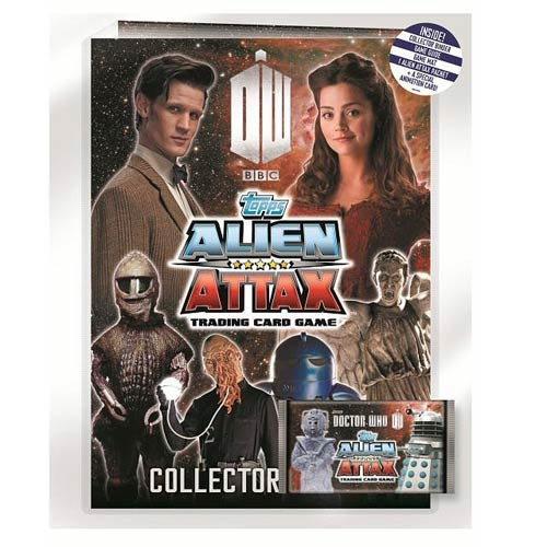 Doctor Who Alien Attax Trading Card Game Starter Pack