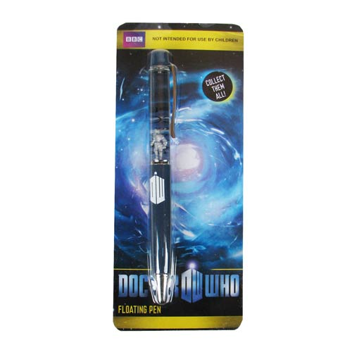 Doctor Who Cyberman Floating Pen
