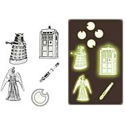 Doctor Who Glow in the Dark Stickers