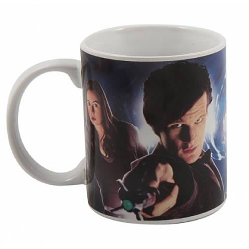 Doctor Who Matt Smith and Amy Pond Mug