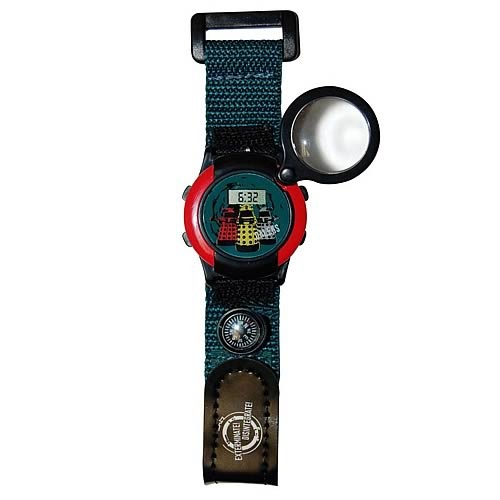 Doctor Who Magnifying Compass Watch with Sound