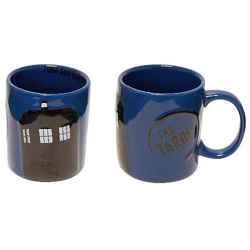 Doctor Who TARDIS 11-ounce Blue Mug