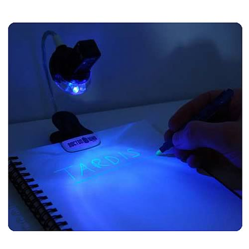 Doctor Who Book Light with UV Pen