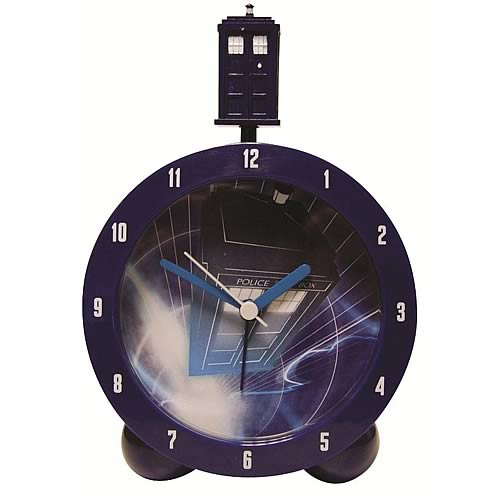 Doctor who tardis topper alarm clock underground toys doctor who clocks at entertainment earth - Tardis alarm clock ...