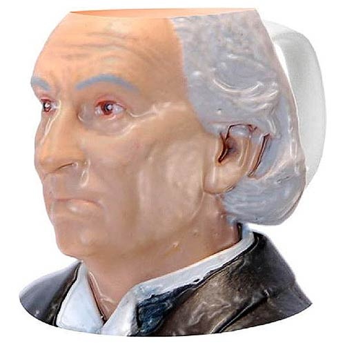 Doctor Who First Doctor Bust Figural Mug