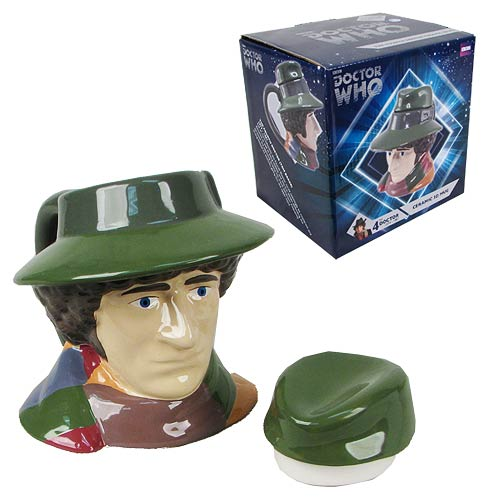 Doctor Who Fourth Doctor Bust Figural Mug