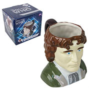 Doctor Who Eighth Doctor Bust Figural Mug