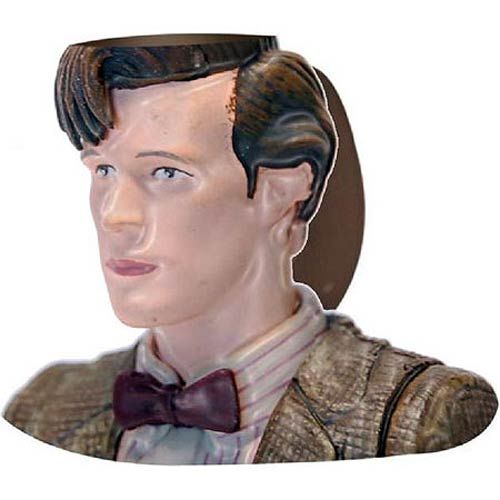 Doctor Who Eleventh Doctor Bust Figural Mug