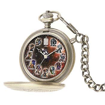 Doctor Who 50th Anniversary The Master's Fob Watch in Silver