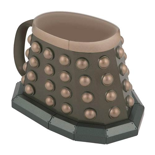 Doctor Who 3-D Grey Dalek Mug
