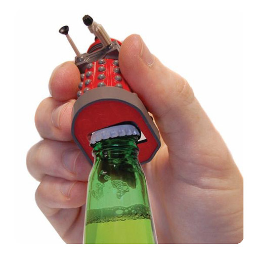 Doctor Who Red Dalek Talking Bottle Opener