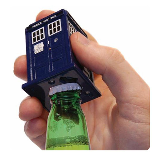 Doctor Who TARDIS Talking Bottle Opener