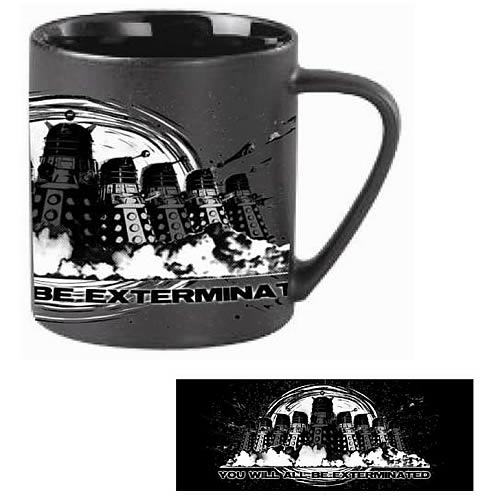 Doctor Who Dalek Mug You Will All Be Exterminated