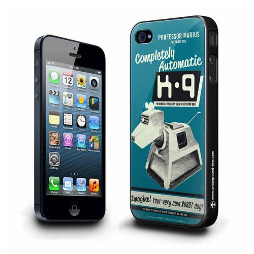 Doctor Who K-9 Retro Advertisement iPhone 5 Hard Cover