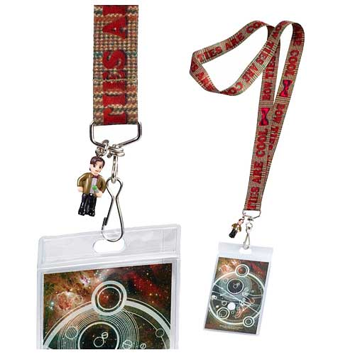 Doctor Who Bow Ties Are Cool Lanyard with 3-D Charm