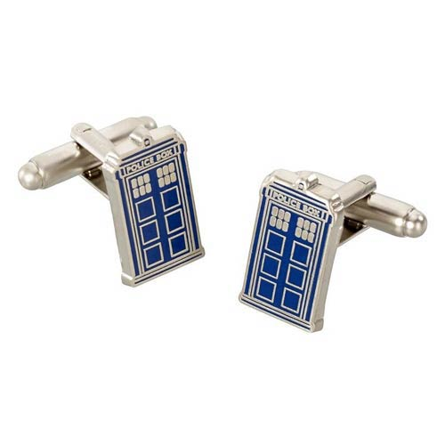 Doctor Who TARDIS Cufflinks in Gift Box
