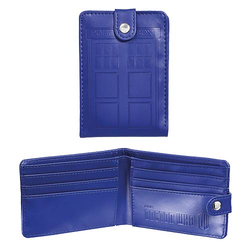 Doctor Who TARDIS Embossed Wallet