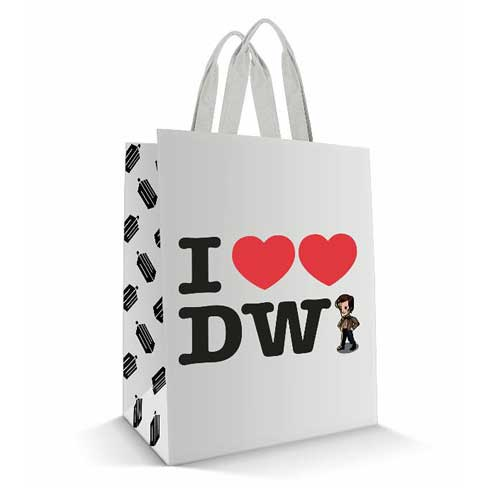 Doctor Who I Heart Heart the Doctor Tote Bag