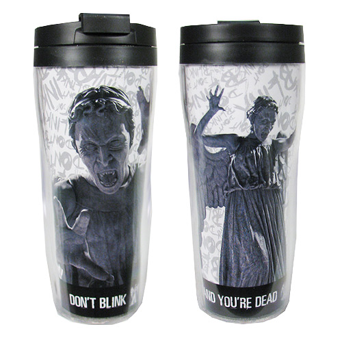 Doctor Who Weeping Angel Travel Mug