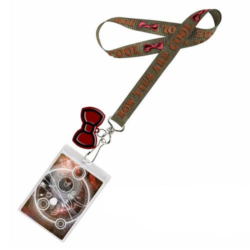 Doctor Who Bow Ties are Cool Lanyard with 2D Bow Tie Charm