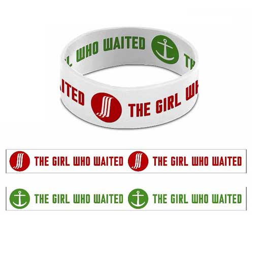 Doctor Who The Girl Who Waited Reversible Rubber Wristband