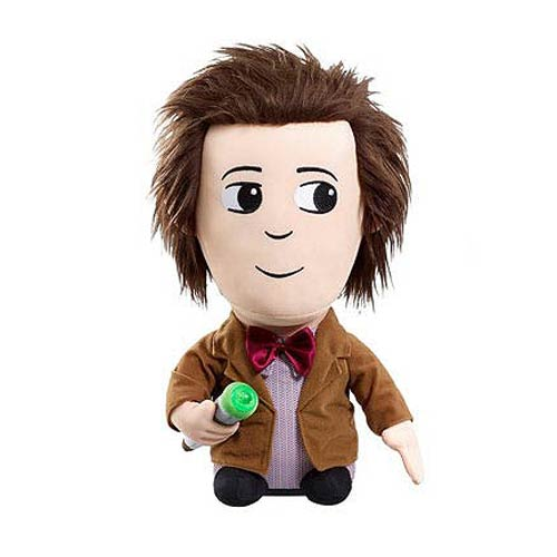 Doctor Who Eleventh Doctor Talking Light-Up 15-Inch Plush