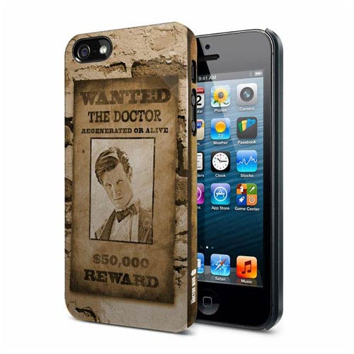 Doctor Who 11th Doctor Wanted Poster iPhone 5 Hard Cover