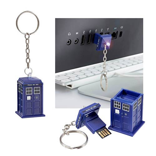Doctor Who TARDIS 8 GB USB Memory Stick