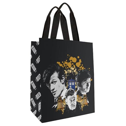 Doctor Who 50th Anniversary Anthony Dry Large Tote Bag