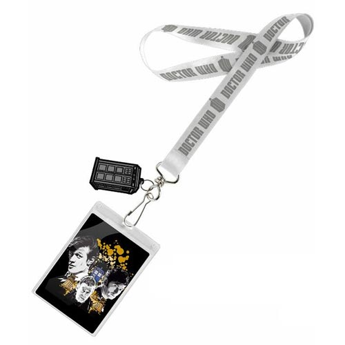 Doctor Who 50th Anniversary Anthony Dry Lanyard with Charm