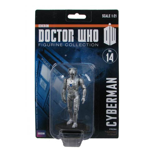 Doctor Who Cyberman Nightmare Silver 50th Ann. Mini-Figure