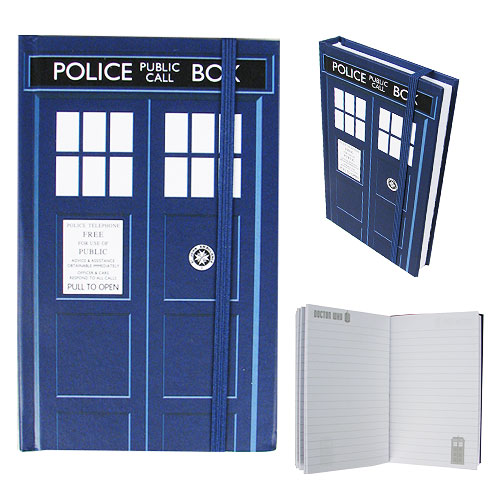 Doctor Who TARDIS Mini Notebook