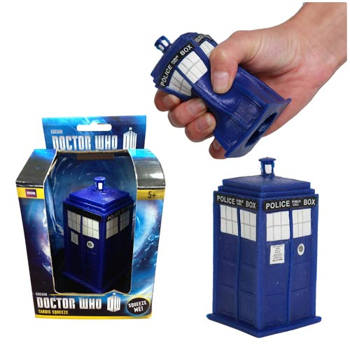 Doctor Who TARDIS Version 2 Stress Toy