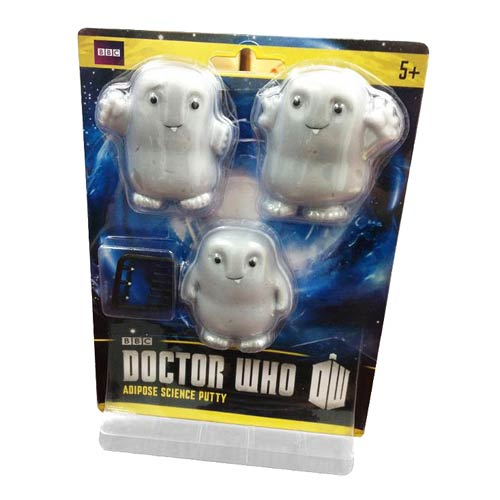 Doctor Who Adipose Putty Stress Toy