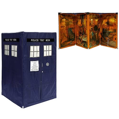 Doctor Who Expandable TARDIS Tent