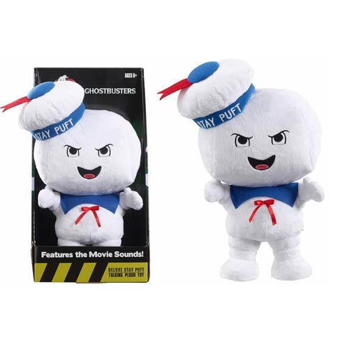 Ghostbusters Singing Angry Stay Puft Marshmallow Man Plush