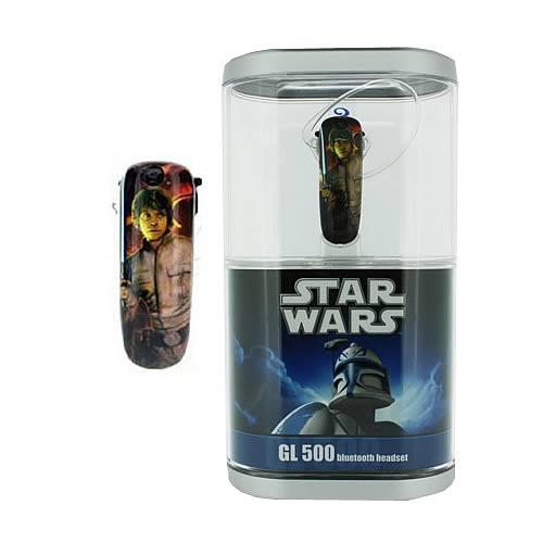 Star Wars Luke Skywalker Earloomz Bluetooth Headset