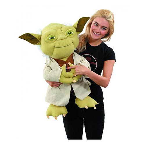 Star Wars Super Deluxe 24-Inch Yoda Talking Plush