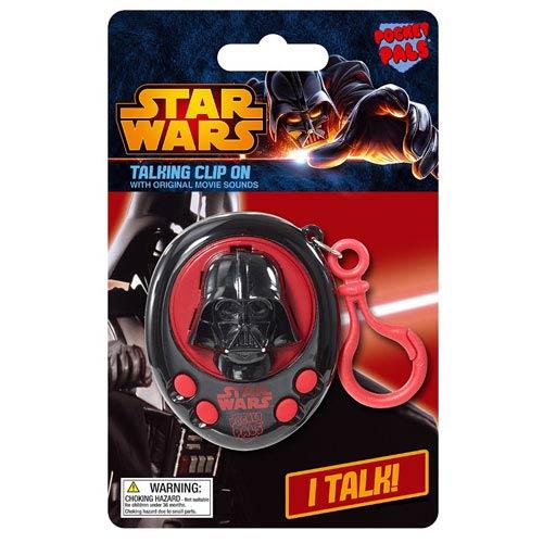 Star Wars Darth Vader Pocket Pal Talking Key Chain
