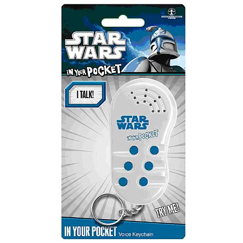 Star Wars In Your Pocket Talking Key Chain